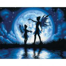 Kit de peinture par numéro - Dimensions - Silhouette au crépuscule