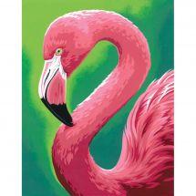 Kit de peinture par numéro - Dimensions - Plaisir de flamant rose