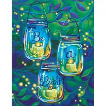 Kit de peinture par numéro - Dimensions - Soyez une lumière