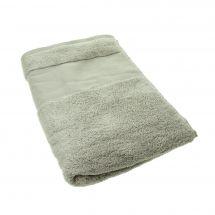 Serviette de toilette à broder  - DMC - Serviette grise