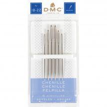 Aiguilles à broder - DMC - Aiguilles à broder chenille n°18 à 22