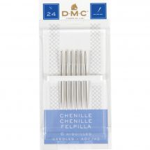Aiguilles à broder - DMC - Aiguilles à broder chenille n°24