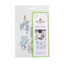 Modèle pour customisation - DMC - Magic Paper plantes