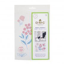 Modèle pour customisation - DMC - Magic Paper Fleurs