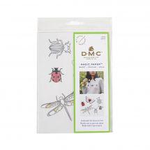 Modèle pour customisation - DMC - Magic Paper insectes