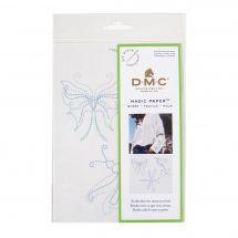 Modèle pour customisation - DMC - Magic paper papillon
