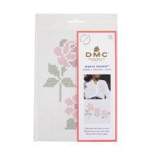 Modèle pour customisation - DMC - Magic Paper roses