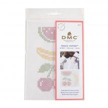Modèle pour customisation - DMC - Magic Paper fruits