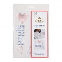 Modèle pour customisation - DMC - Magic paper French touch