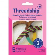Kit créatif enfant - DMC - Bracelet d'amitié - Campagne