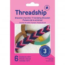 Kit créatif enfant - DMC - Bracelet d'amitié - Coucher de soleil