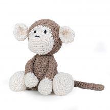 Kit à crocheter - Hoooked  - Mace le singe