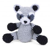 Kit à crocheter - Hoooked  - Ricky le raton laveur