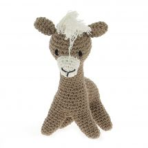 Kit à crocheter - Hoooked  - Laurie le lama