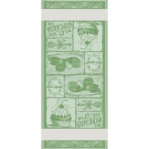 Kit de vis à vis à broder - DMC - Cupcakes - vert