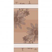 Kit de vis à vis à broder - DMC - Flowers - Beige