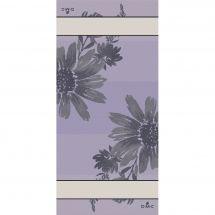 Kit de vis à vis à broder - DMC - Flowers - Lilas