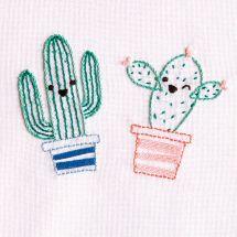 Kit au point de broderie  - DMC - Cactus espiègles