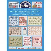 Livre diagramme - DMC - Idées à broder spécial abécédaires