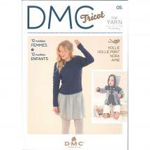 Livre - DMC - 12 modèles femme et 12 modèles enfant