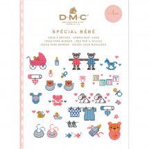 Livre diagramme - DMC - Idées à broder spécial bébé