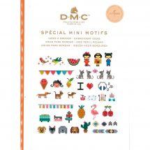 Livre diagramme - DMC - Idées à broder spécial mini motifs