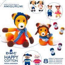 Livre - DMC - 8 idées à crocheter - Happy Cotton 2