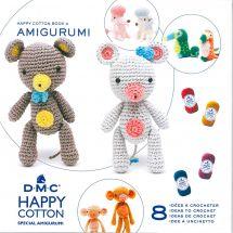 Livre - DMC - 8 idées à crocheter - Happy Cotton 3