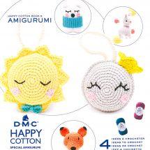 Livre - DMC - 4 idées à crocheter - Happy Cotton 5