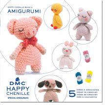 Livre - DMC - 5 idées à crocheter Happy Chenille 3