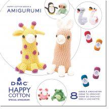 Livre - DMC - 8 idées à crocheter Happy Cotton 8