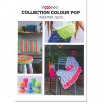 Livre - Hoooked Ribbon XL - Collection Colour Pop - Hooked Ribbon XL Néon