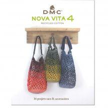 Livre - DMC - 16 projets sacs et accessoires NOVA VITA 4