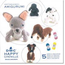 Livre - DMC - 5 idées à crocheter Happy Chenille 4