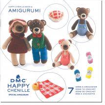 Livre - DMC - 5 idées à crocheter Happy Chenille 6