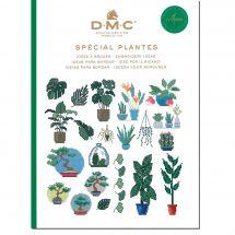 Livre diagramme - DMC - Idées à broder spécial plantes