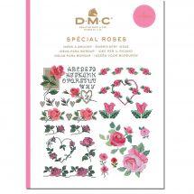 Livre diagramme - DMC - Idées à broder spécial roses