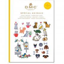 Livre diagramme - DMC - Idées à broder spécial animaux