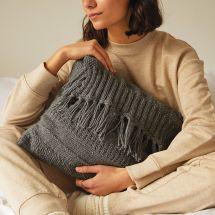 Kit à tricoter - DMC - Mon coussin détente
