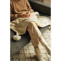 Kit à tricoter - DMC - Ma couverture cosy