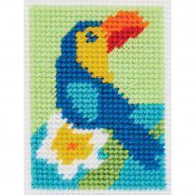 Kit de canevas pour enfant - DMC - Le toucan