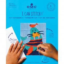 Kit de canevas pour enfant - DMC - Victor le morse