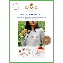 Kit customisation - DMC - Magic paper insectes