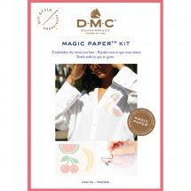 Kit customisation - DMC - Magic paper Fruits