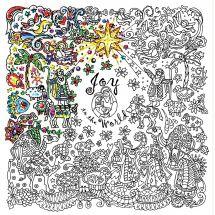Toile pré-dessinée - Zenbroidery - Nativité