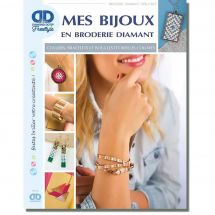 Livre Diamant - Diamond Dotz Freestyle - Mes bijoux en broderie Diamant
