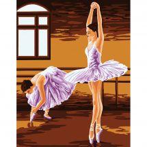 Canevas Pénélope  - Gobelin. L - Les ballerines