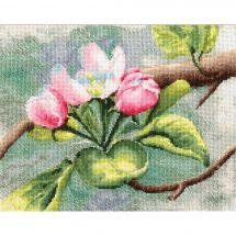 Kit point de croix - Toison d'or - Pommier en fleurs