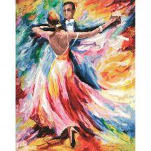 Kit point de croix - Toison d'or - Danse d'amour
