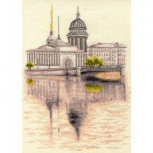 Kit point de croix - Toison d'or - St Petersbourg